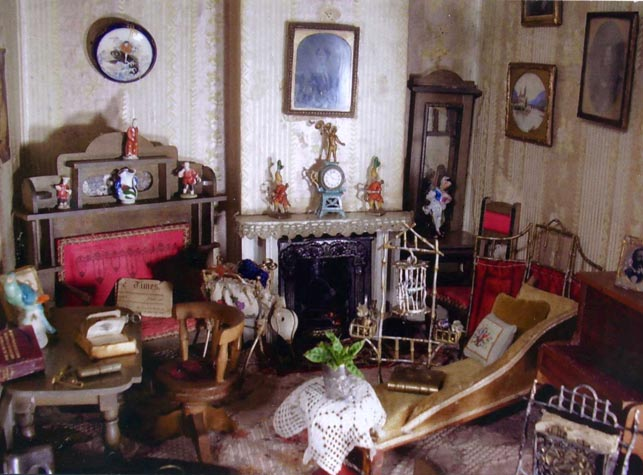 View of 1840's Sitting Room