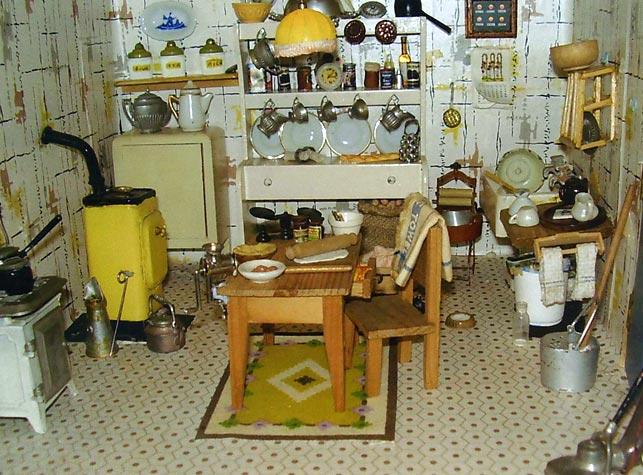 View of 1932 Kitchen
